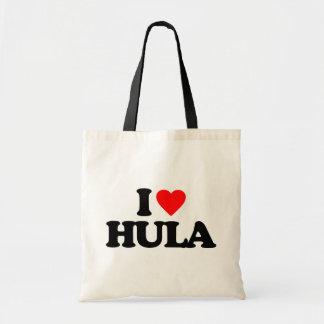 I LOVE HULA TOTE BAG