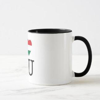 I love Hungary - mug