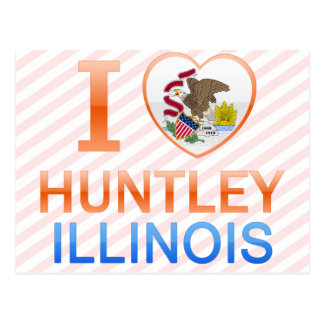 I Love Huntley, IL Postcard