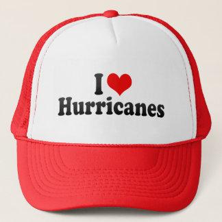I Love Hurricanes Trucker Hat