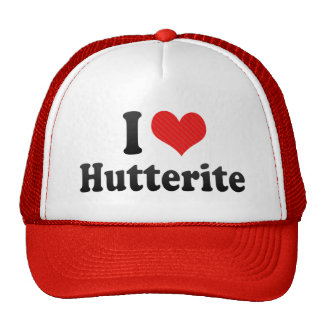 I Love Hutterite Trucker Hat