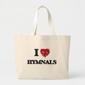 I Love Hymnals Jumbo Tote Bag