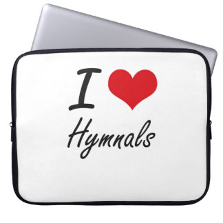 I love Hymnals Laptop Sleeve