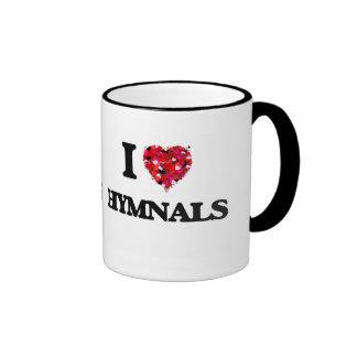 I Love Hymnals Ringer Mug