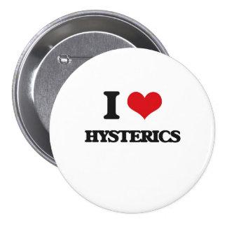 I love Hysterics Button