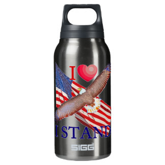 I LOVE I STAND INSULATED WATER BOTTLE