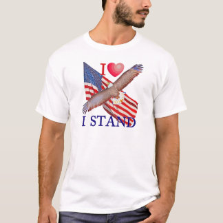 I LOVE I STAND T-Shirt
