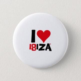 I love Ibiza 18IZA Special Edition 2018 2 Inch Round Button