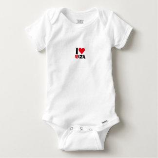 I love Ibiza 18IZA Special Edition 2018 Baby Onesie