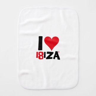 I love Ibiza 18IZA Special Edition 2018 Burp Cloth