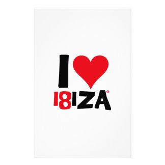 I love Ibiza 18IZA Special Edition 2018 Stationery