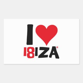 I love Ibiza 18IZA Special Edition 2018 Sticker