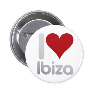 I LOVE IBIZA 2 INCH ROUND BUTTON