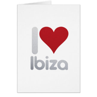 I LOVE IBIZA CARD