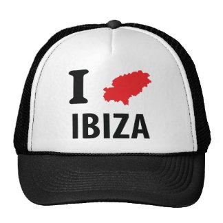 I love Ibiza contour icon Trucker Hat
