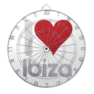 I LOVE IBIZA DARTBOARD