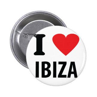 I love Ibiza icon 2 Inch Round Button