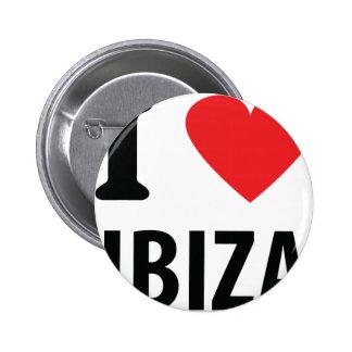 I love Ibiza icon Pin