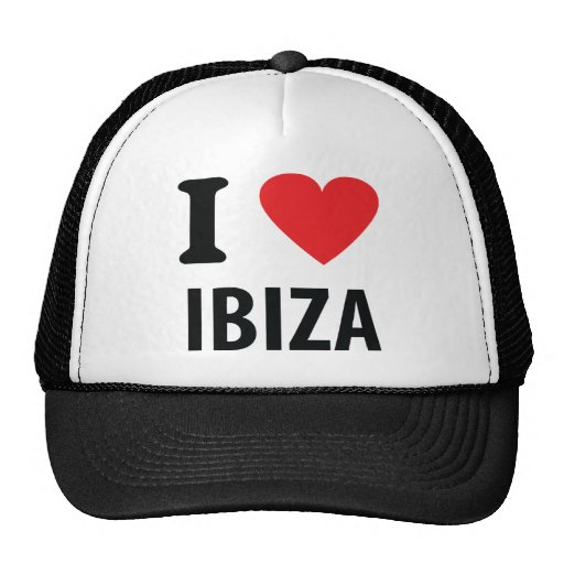 I love Ibiza icon Hat