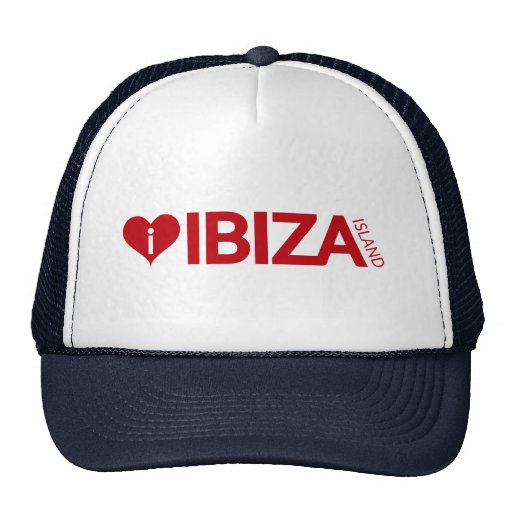 i Love Ibiza Island Original Authentic souvenirs. Hat
