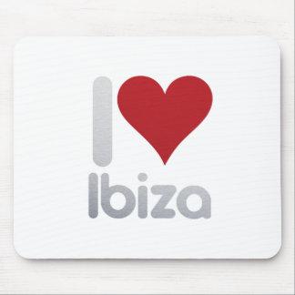 I LOVE IBIZA MOUSE PAD