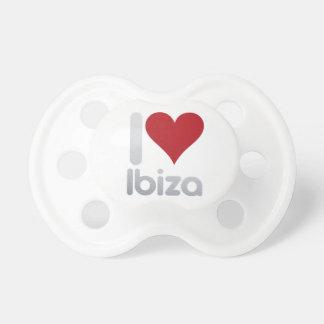 I LOVE IBIZA PACIFIER