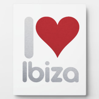 I LOVE IBIZA PLAQUE