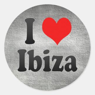 I Love Ibiza Spain Me Encanta Ibiza Spain Sticker