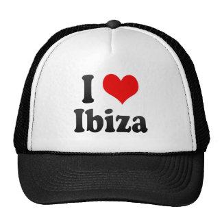 I Love Ibiza, Spain. Me Encanta Ibiza, Spain Trucker Hat