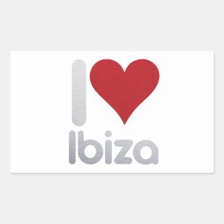 I LOVE IBIZA STICKER