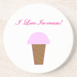 I Love Ice Cream! Coaster