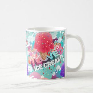 i love ice cream coffee mug