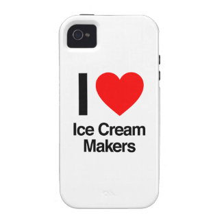 i love ice cream makers vibe iPhone 4 cases