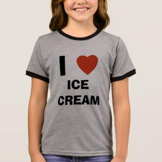 I love ice cream ringer T-Shirt