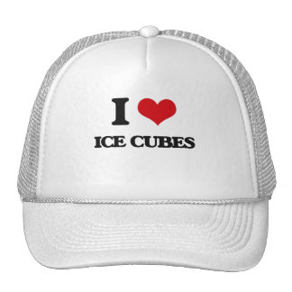 I love Ice Cubes Hat