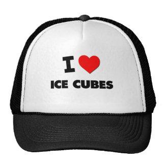 I Love Ice Cubes Mesh Hat