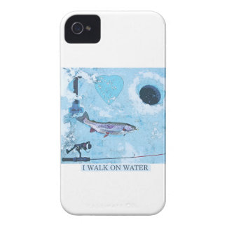 I love ice fishing iPhone 4 Case-Mate cases