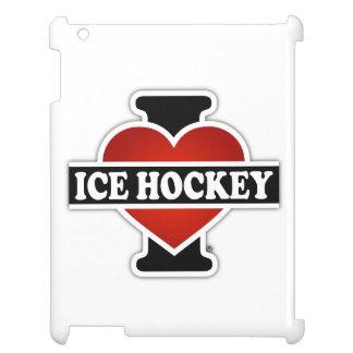 I Love Ice Hockey iPad Cover
