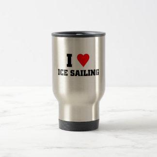 I love Ice sailing Travel Mug
