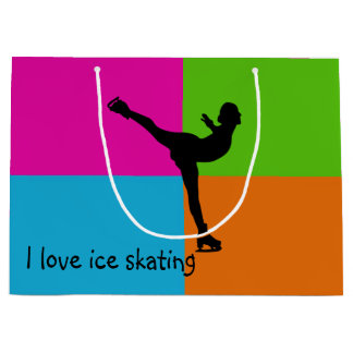 I love ice skating - gift bag