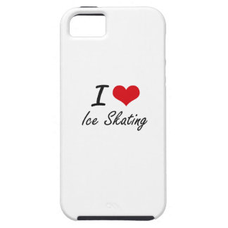 I love Ice Skating iPhone 5 Cover