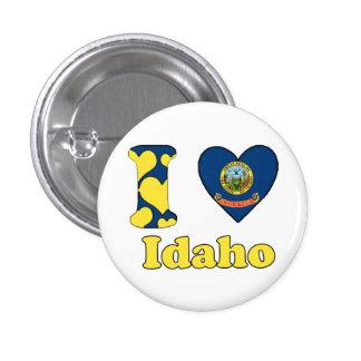 I love Idaho 1 Inch Round Button