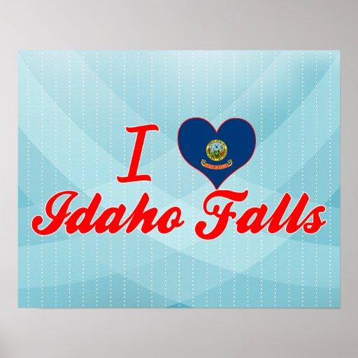I Love Idaho Falls, Idaho Poster