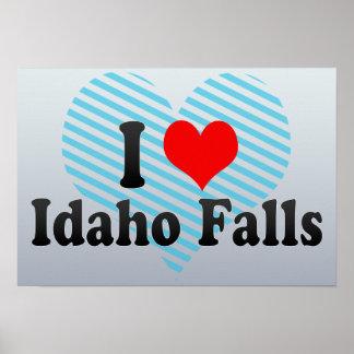 I Love Idaho Falls, United States Poster