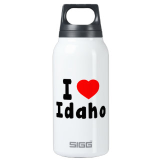 I Love Idaho Insulated Water Bottle