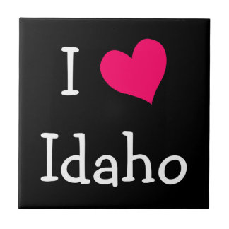 I Love Idaho Tile