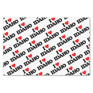I LOVE IDAHO TISSUE PAPER