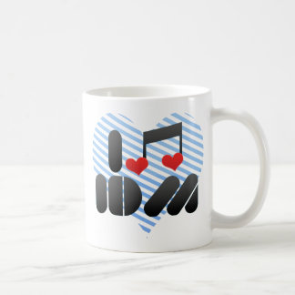 I Love Idm Basic White Mug