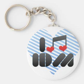I Love Idm Keychain