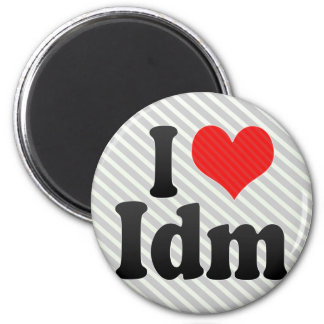 I Love Idm Fridge Magnets